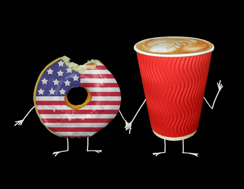 Kansas City Veterans Day Deals - coffee and donut