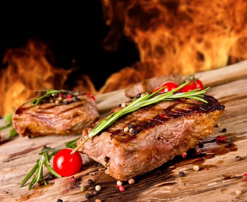 Firebirds Veterans Day deal - beef steak