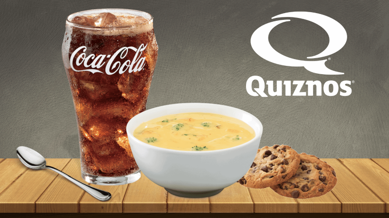 Quizno's soup special
