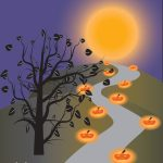 Pumpkins Aglow for Martha Lafite Fairy Tale Forest