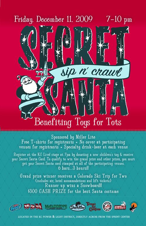 Secret Santa Poster The first annual secret santa