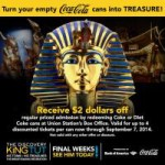 Discount on Tickets to The Discovery of King Tut