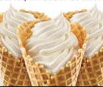 Half-price ice cream cones at Sonic Drive-In