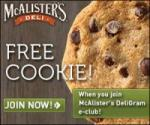 Free Cookie at McAlister's
